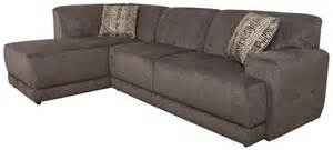 Left Sectional Sofa Cole Contemporary Sectional Sofa With Left Facing