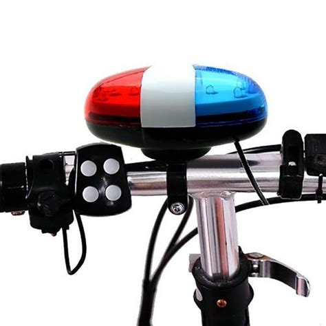 police bicycle lights and siren buy 6led 4tone horn for bicycle bike bells police car led