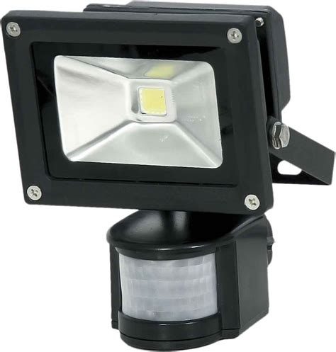 Outdoor Sensor Flood Lights 10w Led Die Cast Aluminium Flood Light With Sensor Flood Lights Outdoor Lighting