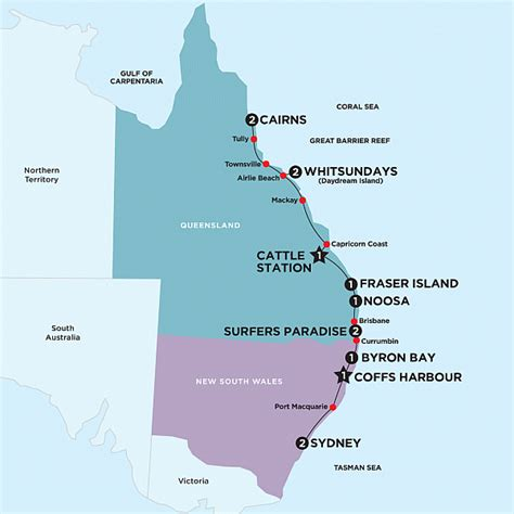 australia east coast map breaking news willow vale gourmet food co