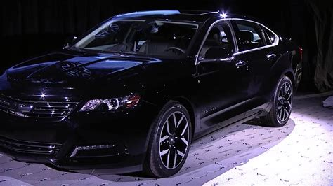 2015 Chevrolet Impala Blackout Concept Unveiled at 2014 SEMA Show YouTube