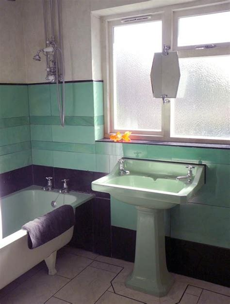 art deco bathrooms 36 art deco green bathroom tiles ideas and pictures