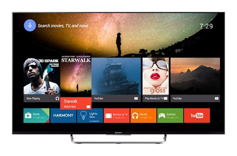 Tv Android Sony harmony and android tv