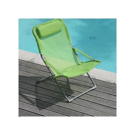 fauteuil relax pliant fauteuil relax pliant et r 233 glable citron vert lot de 2 plantes et jardins