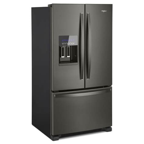 Water Dispenser With Refrigerator wrf555sdhv whirlpool 36 quot 25 cu ft door