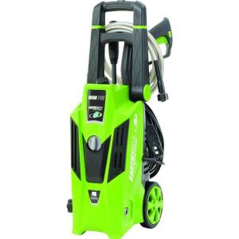 earthwise 1 650 psi 1 4 gpm electric pressure washer