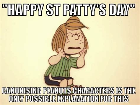 St Pattys Day Meme - st patrick anglican memes