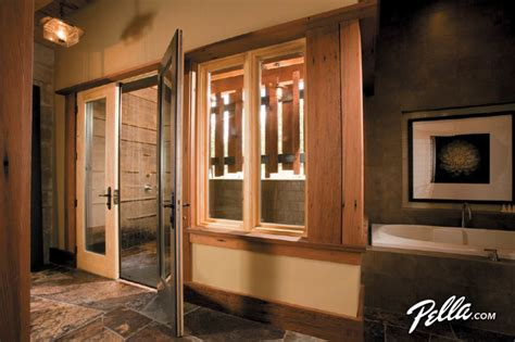 door spa pella 174 architect series 174 hinged patio doors create outdoor