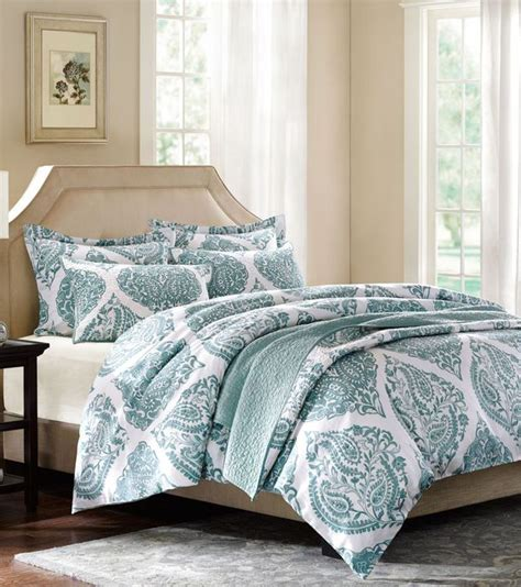 turquoise quilted coverlet hh ogee paisley quilted coverlet collection everything