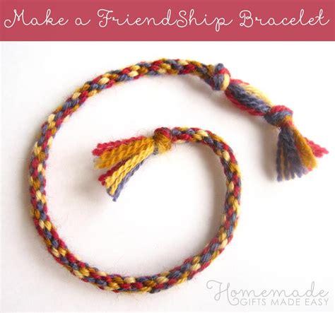 friendship bracelet  easy