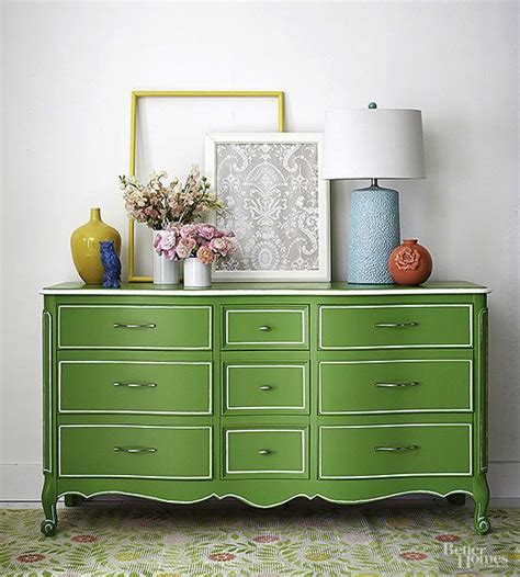11 clever ways to paint furniture enamel paint paint brushes and dresser makeovers