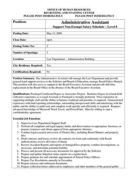 best photos of job posting template word job posting