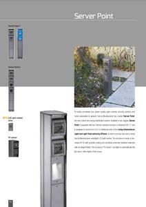 goccia illuminazione catalogo aluminium bollard light power distribution unit server