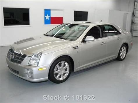 how cars run 2008 cadillac sts engine control sell used 2008 cadillac sts v6 sunroof nav bose climate seats 58k texas direct auto in stafford