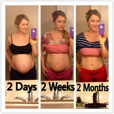 weight loss 2 weight loss 2 months after pregnancy picture before and