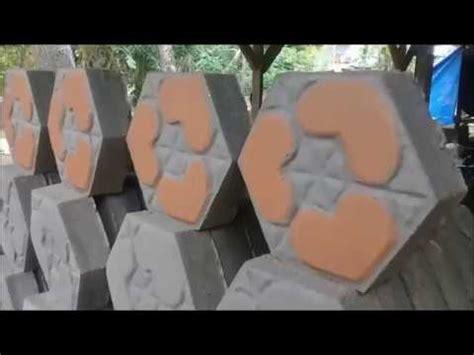 membuat video youtube berkualitas cara membuat paving block manual hasil berkualitas dan