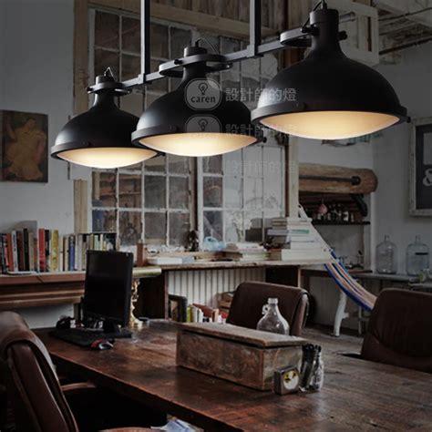 industrial style loft loft vintage retro american industrial style 3 heads pendant lights bar counter restaurant light