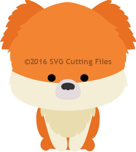 pomeranian chibi animal svg files for sure cuts a lot svg files scal files