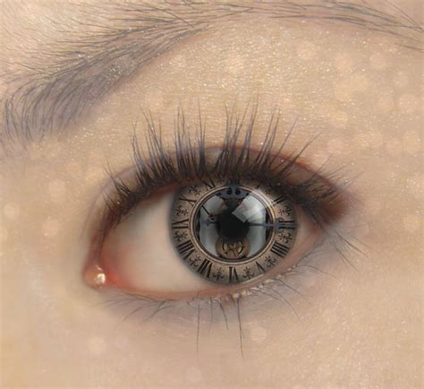 eye tattoo contacts 14 best images about steunk lentilles de contact on
