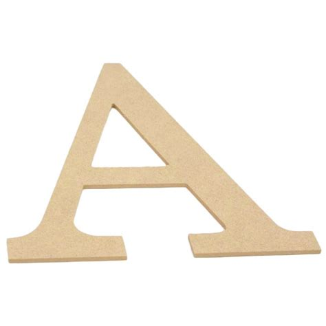 Decorative Wood Letters by 10 Quot Decorative Wood Letter A Ab2025 Craftoutlet