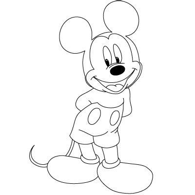 comment dessiner mickey mouse dessein de dessin