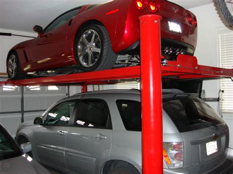 car lift owners what to do with garage door opener