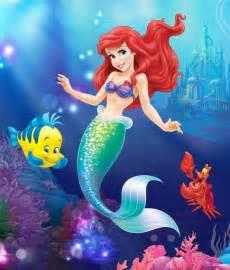 mermaid disney princess decalgirl