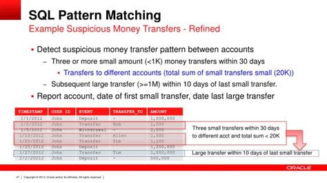 pattern matching in sql ppt sql the best development language for big data
