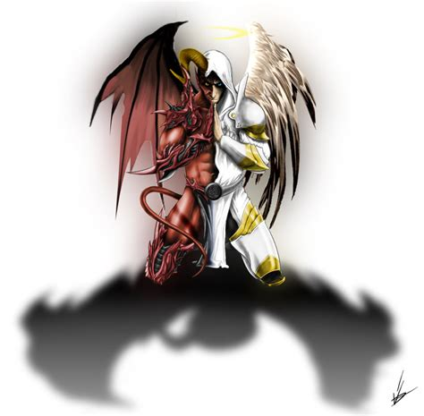 demon angel tattoo by devitch on deviantart