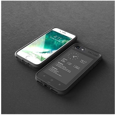 inkcase e ink second screen for iphone 8 7 6s 6 expansys australia