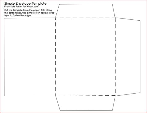 Envelope Template For 4 215 6 Card Beautiful Template Design Ideas Card Envelope Template