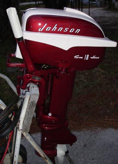 johnson outboard boat motors for sale restored johnson 18 hp outboard boat motor for sale boat