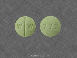 Isosorbide Dinitrate Also Search For 772 W W Pill Isosorbide Dinitrate 20 Mg