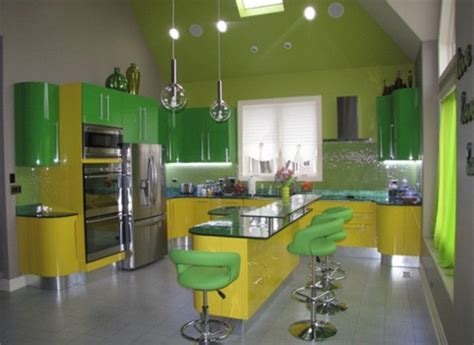 yellow and green kitchen ideas cheerful summer interiors 50 green and yellow kitchen