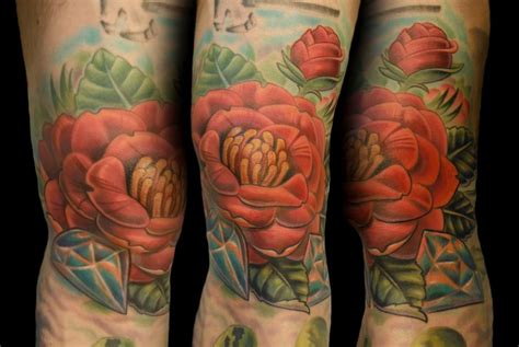 camellia tattoo designs the map tattoos tim senecal camellia flower