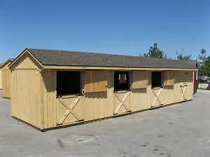 shed row barns