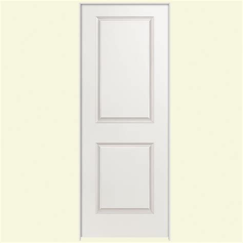 Primed Interior Doors Masonite 30 In X 80 In Solidoor Smooth 2 Panel Square Solid Primed Composite Single