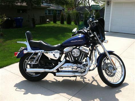 Motorcycle Dealers Appleton Wi by 2006 Harley Davidson 174 Xl1200c Sportster 174 1200 Custom Blue