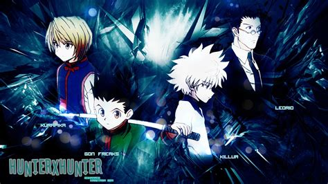 anime hunter x hunter top 5 best hunter x hunter 2011 fight scenes youtube