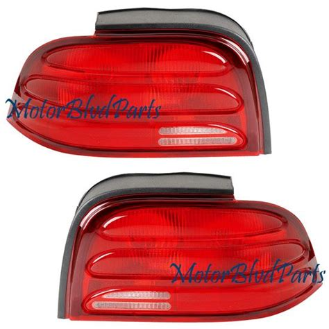 1994 mustang tail lights mustang 1994 1995 oem style tail lights