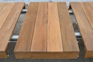 Outdoor Expandable Dining Table Outdoor Dining Table In Teak Expandable At 1stdibs