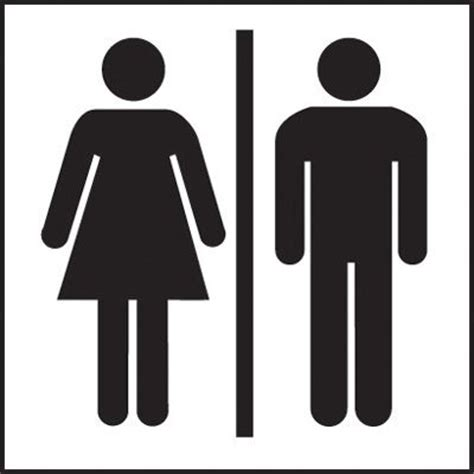 male female bathroom symbols male female toilet sign clipart best