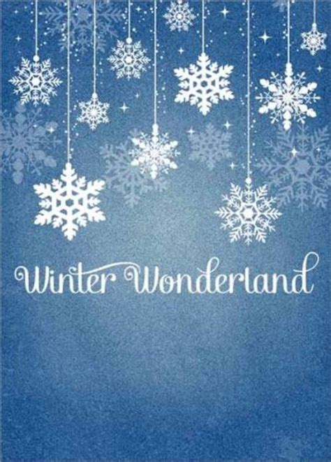 winter wonderland pictures