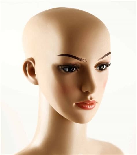 realistic mannequin heads plastic female mannequin display bust head on jewellery world