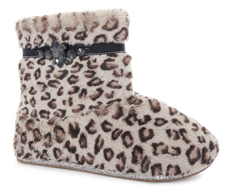 primark slippers animal detail fluffy slipper boot for primark
