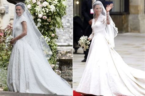 Royal Wedding Comparison by Pippa Vs Kate Middleton How The Royal Wedding Compared