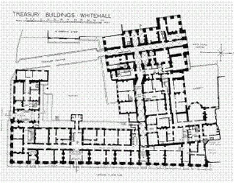downing 10 grundriss treasury buildings ground floor plan plans