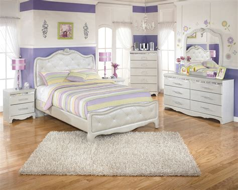 upholstered bedroom sets zarollina youth upholstered bedroom set b182 63 62 furniture
