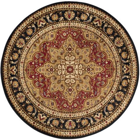 10 x 7 area rug tayse rugs elegance 7 ft 10 in x 7 ft 10 in traditional area rug elg5500 8rnd