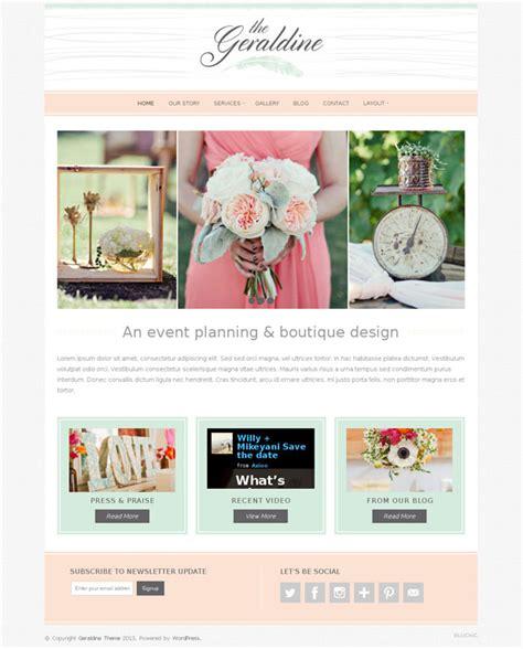 Wedding Planner Theme by 25 Beautiful Wedding Themes 2014 Smashthemes